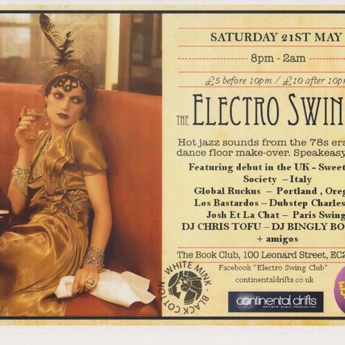 GlobalRuckus - Electro Swing Club London - An Italian Affair - 2011-5-25