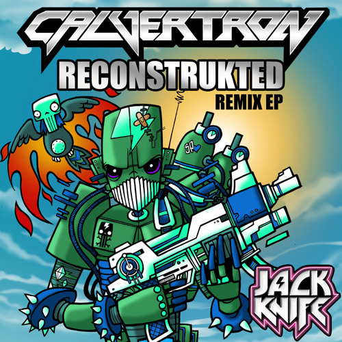 Deconstrukt by Calvertron ft. Messinian (Kezwik Remix)