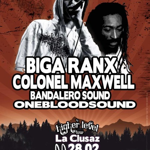 """Colonel Maxwell """"play fi wi"""" feat B*R Live""""Higher level tour 2K10"""""""