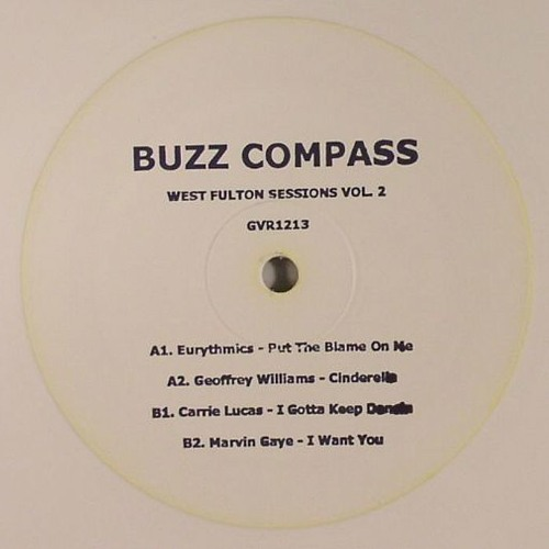 GVR 1213 Eurythmics - Put The Blame On Me (Buzz Compass Edit) 12'' out in January 2013