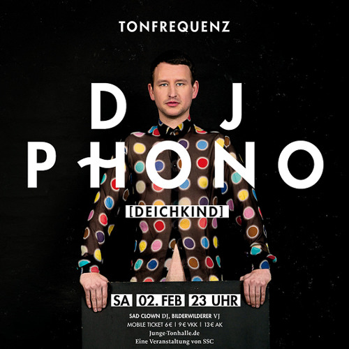 New Years Day - DJ Phono @ Tonfrequenz 02.02.13 Tonhalle Düsseldorf