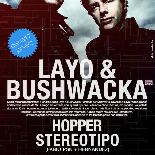Layo & Bushwacka! @ 5uinto 278