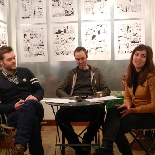 Interview d'Anders Nilsen par Mikaël Demets, traduction de Tania Brimson
