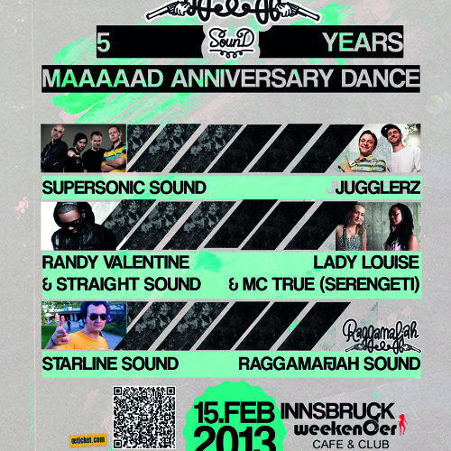 "Randy Valentine PromoMix for ""5 years Raggamafjah Sound"""
