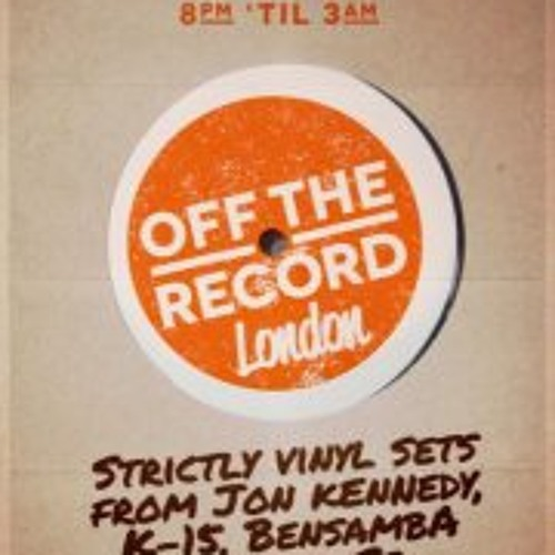 Live at 'Off The Record' - (January 19th 2013)
