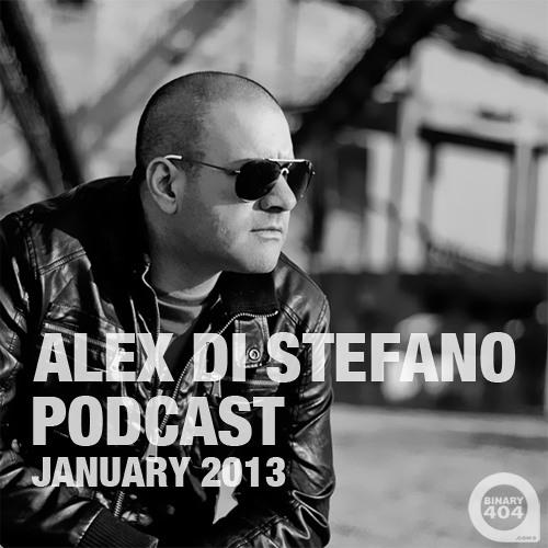 Alex Di Stefano Podcast January 2013 [FREE DOWNLOAD]