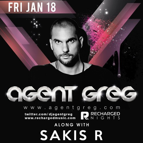 Agent Greg live @ Dybbuk club (Athens) - 18 January 2013