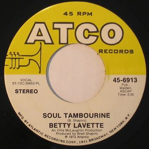 Bettye LaVette - Soul Tambourine [Honest Lee Re-Edit]