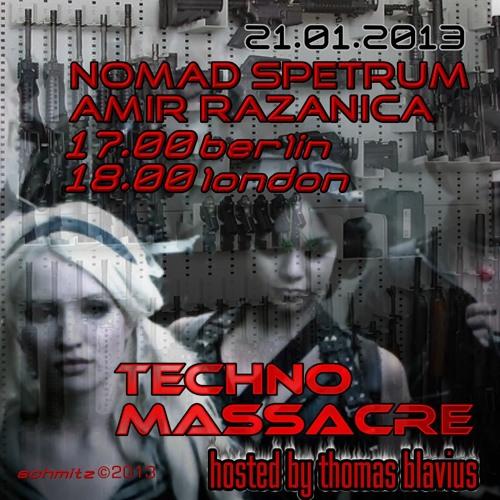 T3CHNO MASSACRE PODCAST 14 with Nomad Spectrum & Amir Razanica