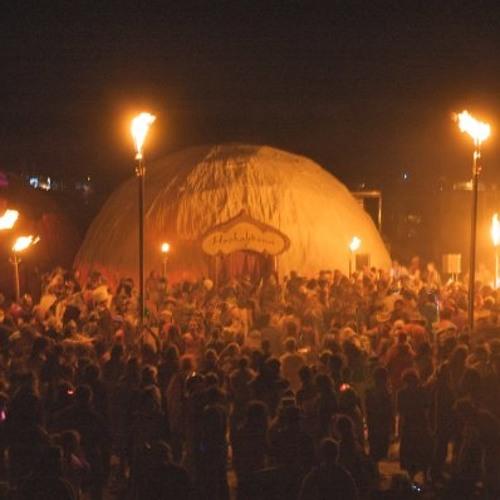 Burning Man - HookahDome - Outside - 2009