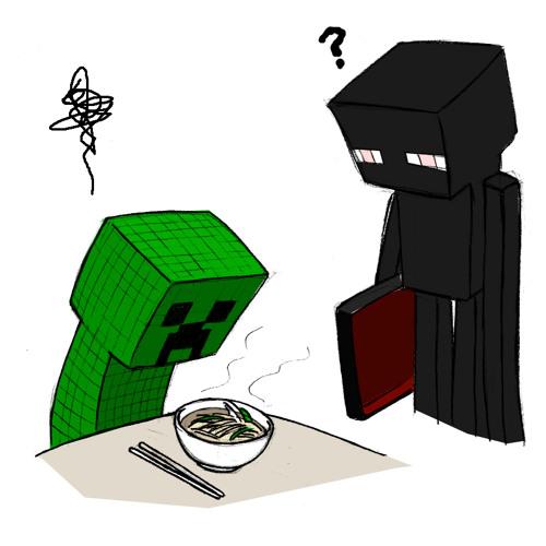 My First Night in Minecraft.