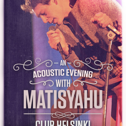 "Matisyahu - ""Running Away"" Bob Marley cover live at Helsinki - Hudson NY"