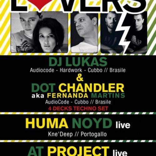 Lucas Freire & DOT CHANDLER aka Fernanda Martins 4 decks @ Twisted Club (Techno Set)