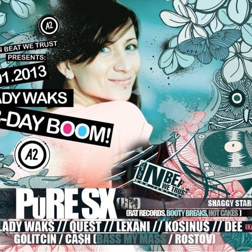 "PuRe SX aka Martin Flex @ Lady Waks B-Day Boom, St Petersburg, Russia - 12/01/2013 "" FREE DOWNLOAD """