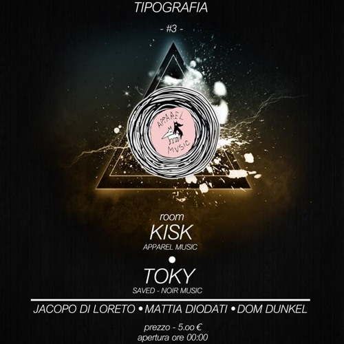 #1 Kisk for 45Party Exclusive Minimix 25 01 2013 Tipografia