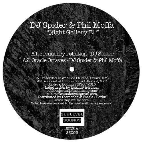 "4 Clips from ""Night Gallery EP"" - DJ Spider & Phil Moffa (Vinyl Only)"