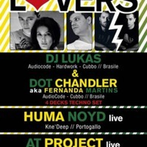 Lukas+Dot Chandler 4 decks Techno Set at Twisted Techno 12 01 2013 ITA