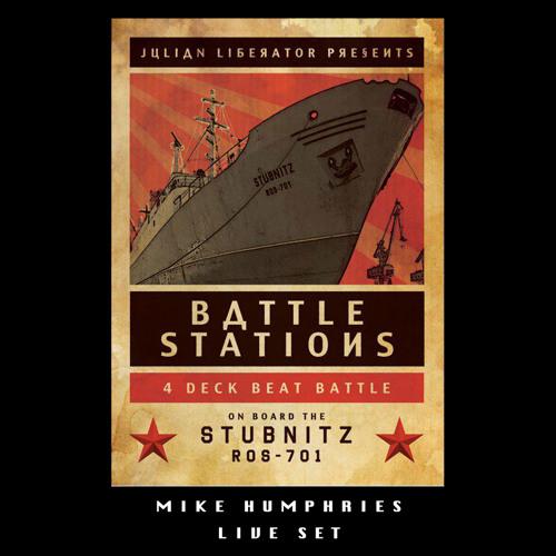 Mike Humphries Live Set - Battlestations - MS Stubnitz