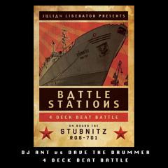 DJ Ant vs Dave The Drummer - Battlestations - MS Stubnitz