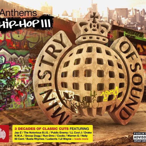 Anthems Hip Hop 3 Minimix (Ministry of Sound UK) (Out Now)