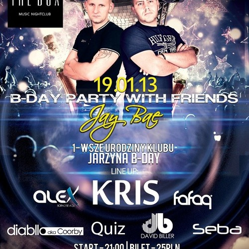Kris Live @ Jay Bae B-Day Party The Box Opalenica 2013-01-19