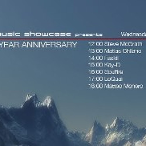 Mistique Music Showcase 1 -Year Anniversary on Di.FM 23.1.13. w/LoQuai