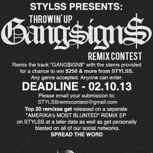 GANG$IGN$ (⥢ɱ∅ʠəɭɨNɠ⥤ REMIX)