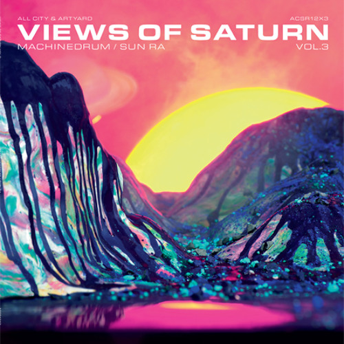 Machinedrum - Views of Saturn #3 (ACSR12x3)