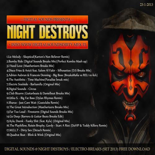 Digital Sounds - Night Destroys