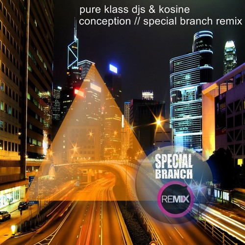 Pure Klass DJ's & Kosine -Conception - Special Branch Remix
