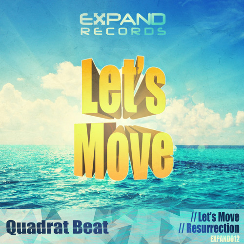 Quadrat Beat - Let's Move [EXPAND RECORDS]
