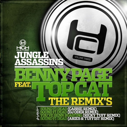 Benny Page & Top Cat - Sound Fi Dead (Dj Oder Remix) OUT NOW!