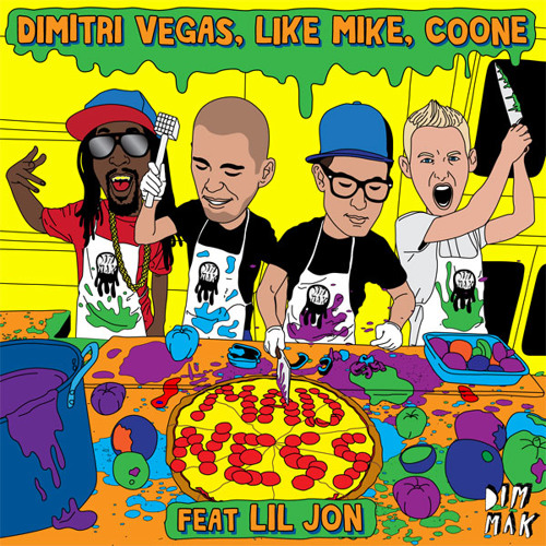 Dimitri Vegas, Like Mike, Coone - Madness feat. Lil Jon (Teaser)