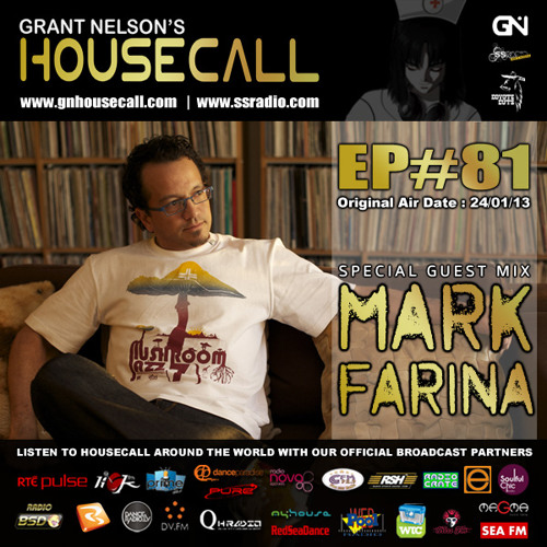 Housecall EP#81 (24/01/13) incl. a guest mix from Mark Farina