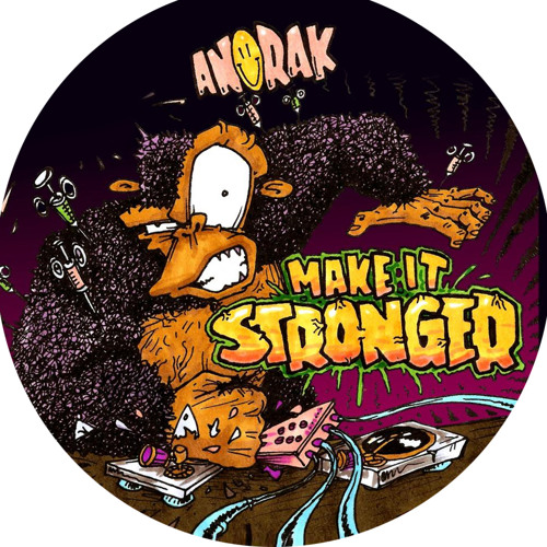 """ANORAK - MAKE IT STRONGER E.P - 12"""" AVAILABLE NOW!!! - (Dr...um 192 kbs promo mix)"""