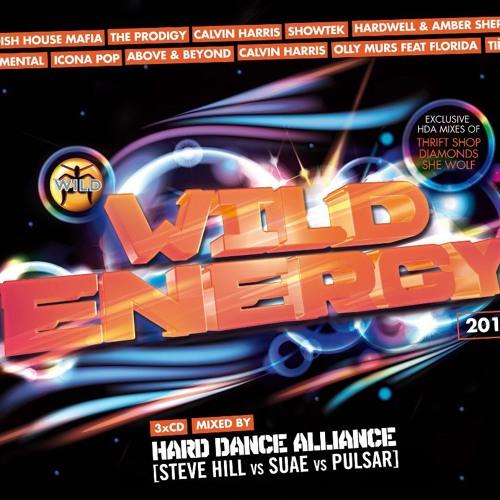 HARD DANCE ALLIANCE (STEVE HILL|SUAE|PULSAR) - WILD ENERGY 2013 2DAYFM MINI MIX