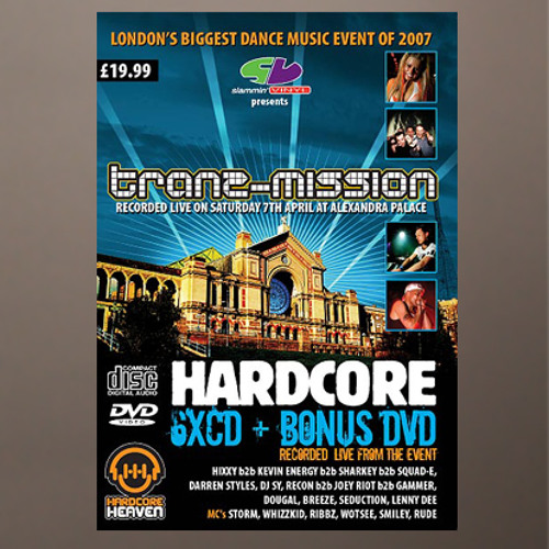 Re-Con B2B Joey Riot B2B Gammer with MC Whizzkid at Tranzmission 2007 Alexandra Palace