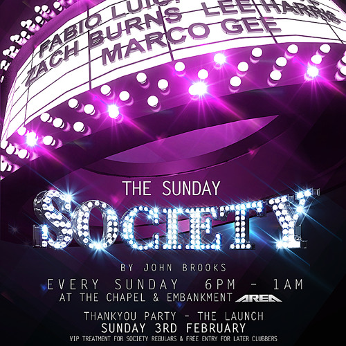 fabioluigi/jubolmix_ SOCIETY is back-Feb.2013 @ AREA London