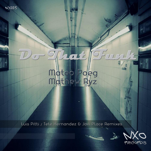 Mateo Poeg & Matthew Ryz - Do That Funk (Luis Pitti Remix)