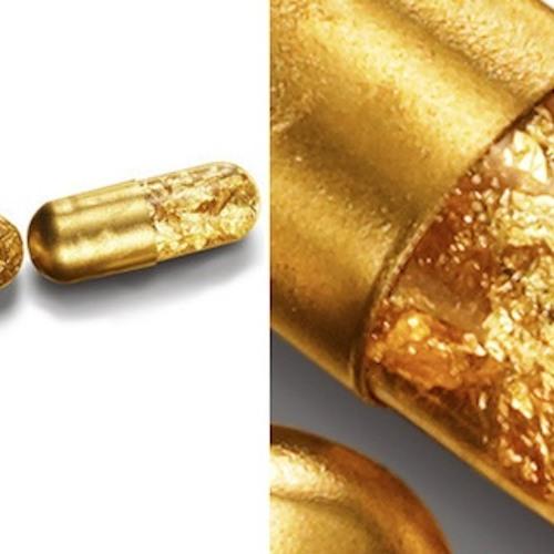 Fake Gold Rock
