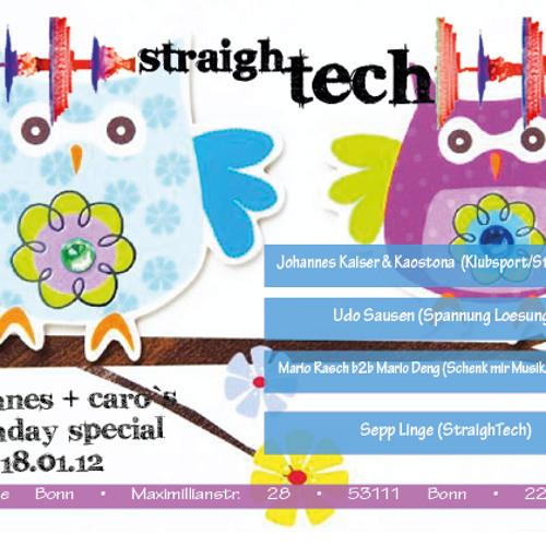 StraighTech Bonn-Birthday DJ-Set LIVE-18.01.2013