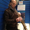 Special guest my Bro on tenor sax! Playing Duke Ellington.