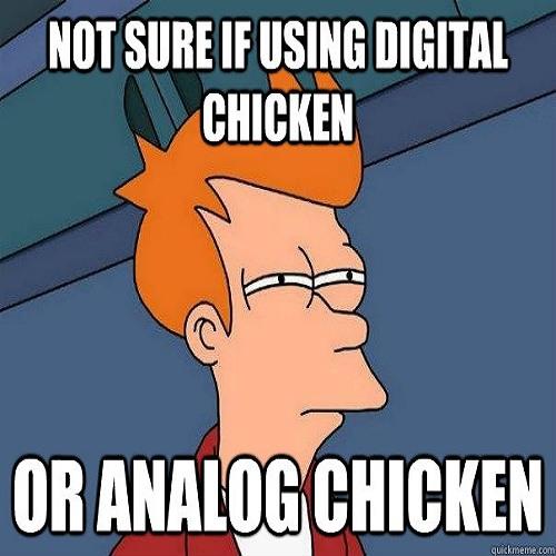 Analog Chicken (Diezal & Enimal Noize Colab) [Clip]