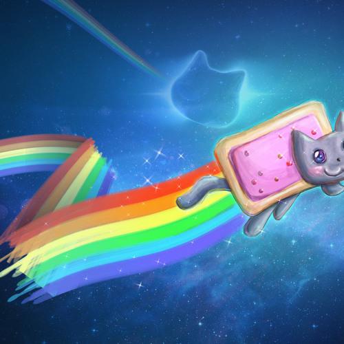 The Nyan Cat 10K Mix (tr4gik turntable.fm mashup)