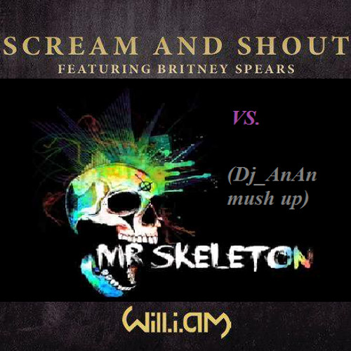 Will i am vs Mr Skeleton Bhave-scram and talking that(Dj AnAn mush up)