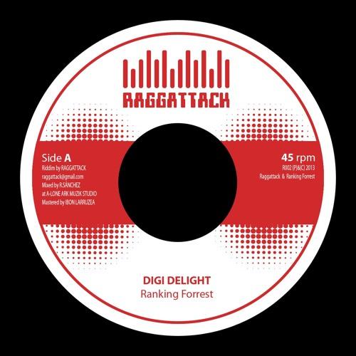 "Raggattack 002 7"" - Ranking Forrest - Digi Delight"