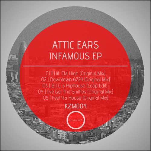 KZM004 - Attic Ears - Feel Ya House (Original Mix) (snippet)