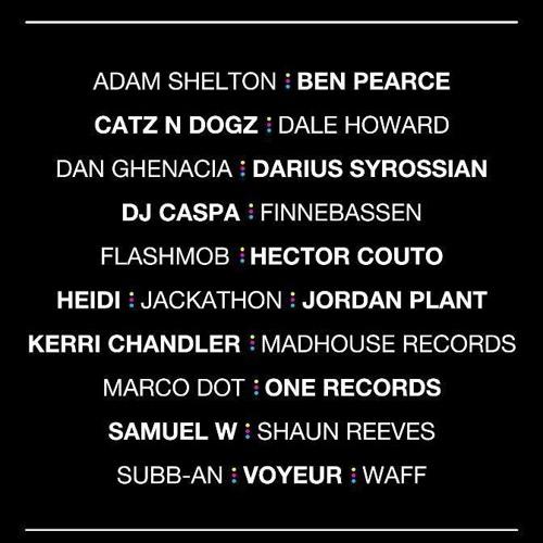 DJ CASPA UNDERGROUND HOUSE &G    27.1.13