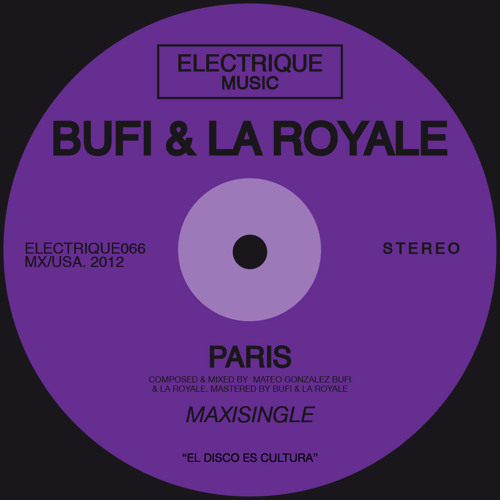 Bufi & La Royale - Paris