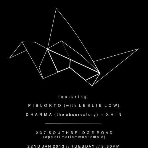 Dharma & Xhin Live @ Earthbound, Singapore, January 22, 2013